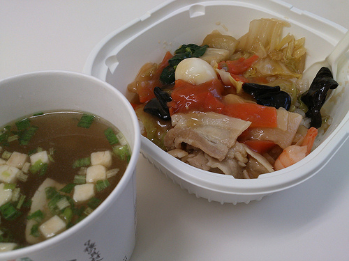 ダイエットセブンイレブン中華丼