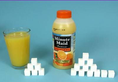 ジュース砂糖